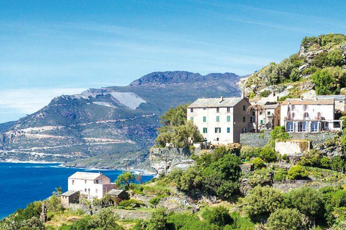 Visage et paysages de Corse